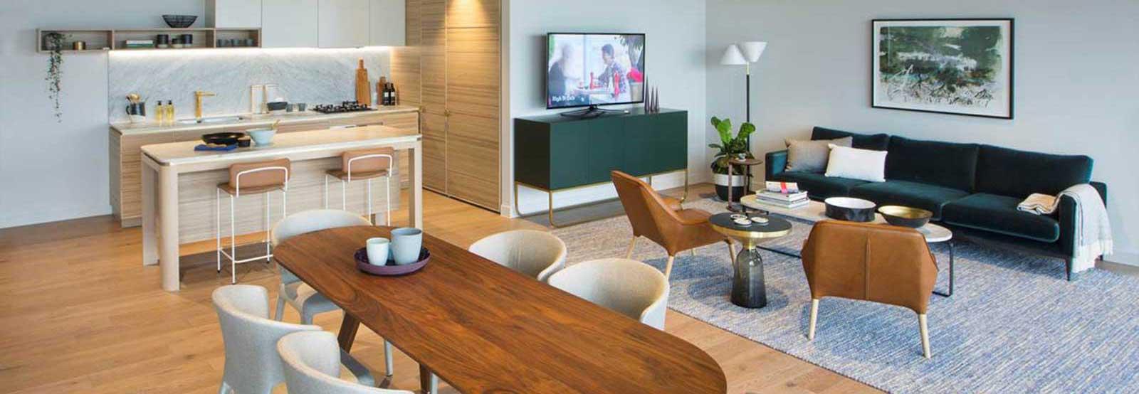 Caulfield Village – <span>Apartment Kitchen and Living</span>