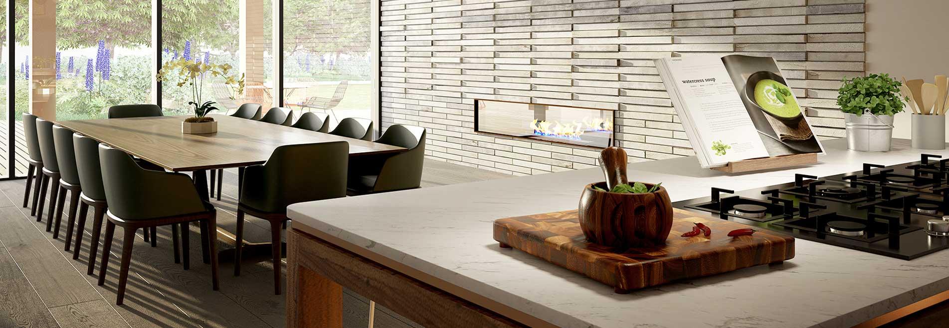 Caulfield Village – <span>Residents' kitchen & dining room</span>